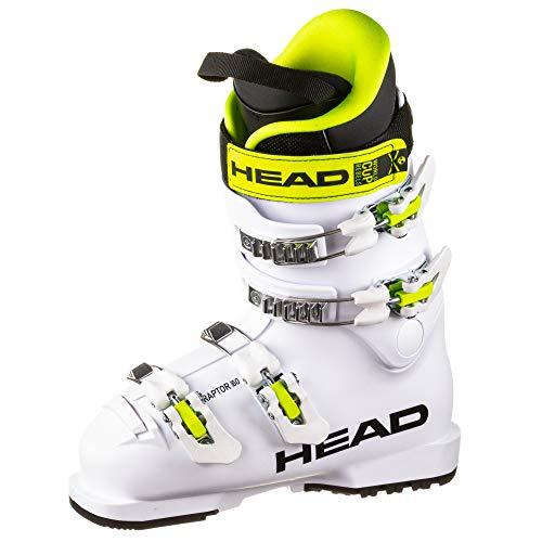 HEAD Kinder Skischuhe Raptor 60 White Weiss (100) 25,5