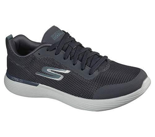Skechers mens Gorun 400 V2 Omega - Performance and Walking Running Shoe, Charcoal, 11.5 US