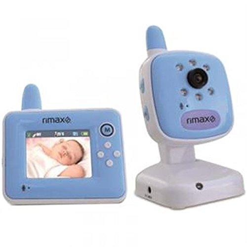 Rimax - Vigilabebes de video rimax rb203bl baby kangoo pantalla lcd 2,4', color de indicador de temperatura azul
