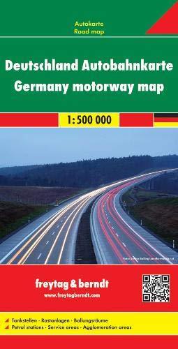 Deutschland, Autobahnkarte 1:500.000: Wegenkaart 1:500 000 (freytag & berndt Auto + Freizeitkarten)
