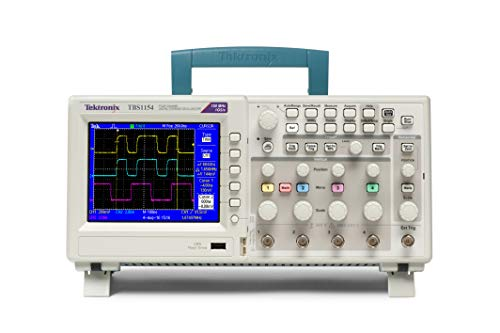 Tektronix TBS1154 Digital-Speicher-Oszilloskop, 150 MHz Bandbreite, 1GS/s Abtastrate, 4 Kanäle, 2.500 GHz Aufnahmelänge