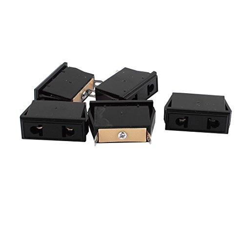 Aexit 5pcs universale AC 250V 10A 2P spina rotonda piatta adattatore di alimentazione presa europea...