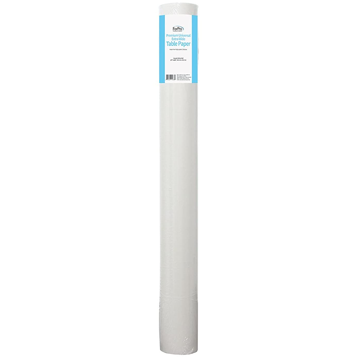 ForPro Premium Universal Extra Wide Table Paper, Smooth, Wrinkle-Resistant, 27