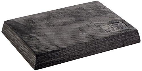Sissel Unisex Erwachsene Fit Marmoriert Balance Pad, schwarz, 50 x 41 6 cm EU