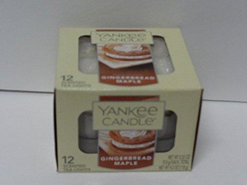 Yankee Candle Gingerbread Maple 12 Tea Lights
