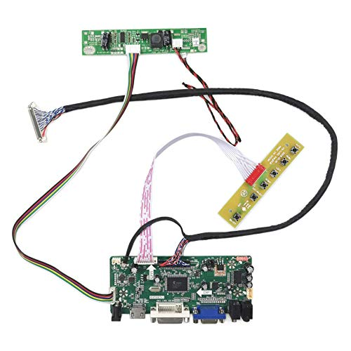 VSDISPLAY HD-MI Audio LCD Controller Board M.NT68676 Fit for 17 4:3 1280x960 DV170YGZ-N10 DV170YGM-N10 LCD, to DIY The Arcade1UP Marvel Super Heroes and The New TMNT Work with Raspberry Pi