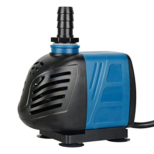 Uniclife 550GPH Submersible Water Pump with 6ft Power Cord for Fountain Aquarium Pond Fish Tank Hydroponic DP-2500