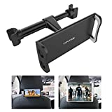 "Tryone Car Headrest Tablet Mount Holder Compatible with Smartphones/Tablets/Switch 4.7""-10.5"", Headrest Posts Width"