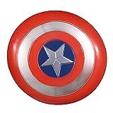 Captain America Shield 30cm 1: 1 ABS Plastic Shield Versione Film Avenger Puntelli Capitan America Costume Adulto One Size America Puntelli da Uomo Cosplay Compleanni Regalo
