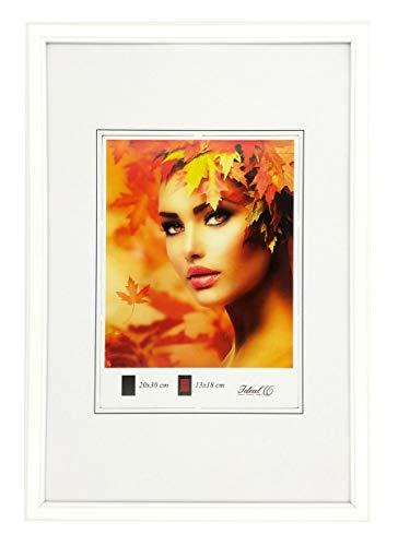 Ideal Trend Eco Kunststoff Bilderrahmen 20x30 21x30 30x40 30x45 40x50 Bilder Foto Rahmen: Farbe: Weiß | Format: 30x45
