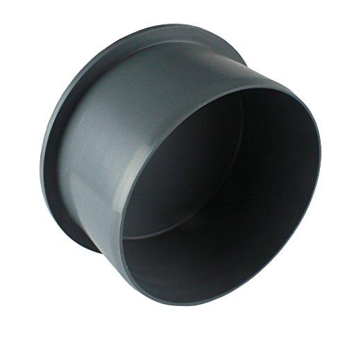 MKK - 19554-004 - HT Muffenstopfen PP DN 32-100 mm Abschlusskappe Endkappe KG-Rohr Stopfen Muffe Rohrkanal Endverschluss Deckel grau DN 110