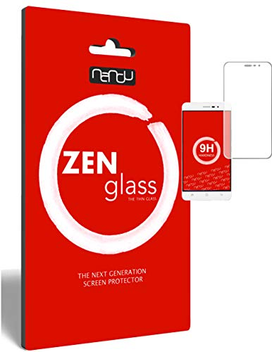ZenGlass (2 Stück Flexible Glas-Folie kompatibel mit Medion S5004 Panzerfolie I Bildschirm-Schutzfolie 9H