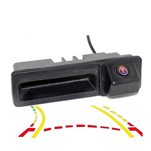 QWERQF Trayectoria dinámica Asa del Maletero Cámara Trasera Espejo Cámara retrovisora,para Cayenne Audi A4 A4L A6 A6L A7 A5 Q7 Q5 Q3 RS5 RS6 A3 A8L