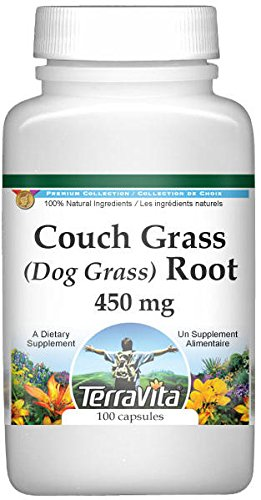 Couch Grass (Dog Grass) Root - 450 mg (100 Capsules, ZIN: 511200) - 2 Pack