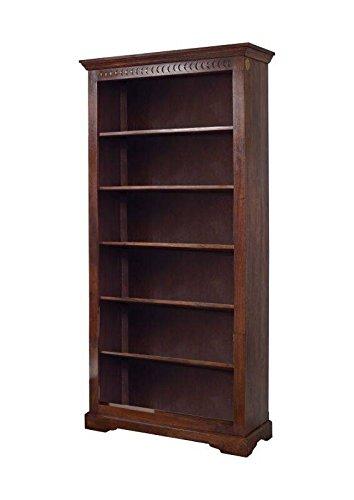 MOBILI COLONIALI Scaffale massello acacia legno Oxford #421