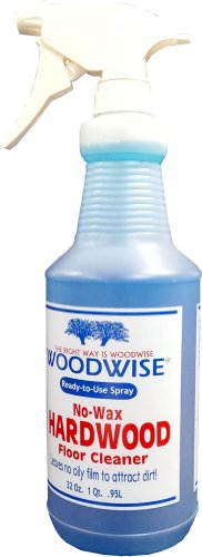 Woodwise Ready-to-Use No-Wax Hardwood Floor Cleaner 32oz Spray