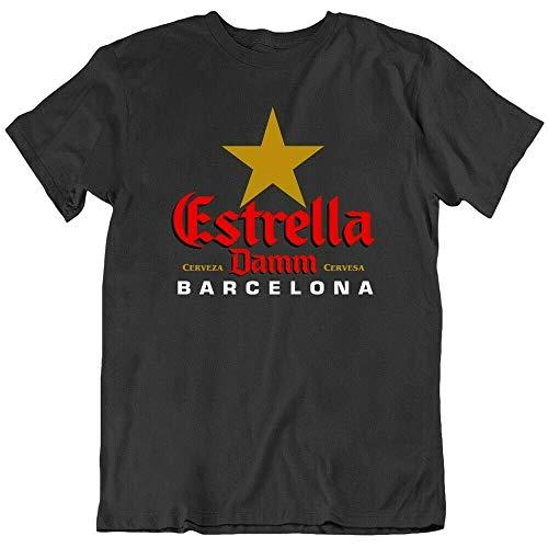 Estrella Damm Beer Barcelona Drink Alcoholgood Deal Mens T Shirt tee Gift...