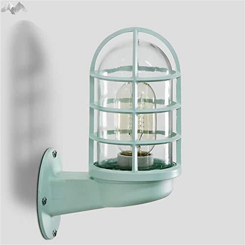 BuyWorld 5151BuyWorld Amerikaanse lamp, creatief, industrieel, kleurrijk, wandlamp, voor woonkamer, balkon, bar, slaapkamer, binnenverlichting