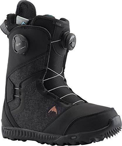 Burton Felix BOA Snowboard Boots Womens Sz 10 Black