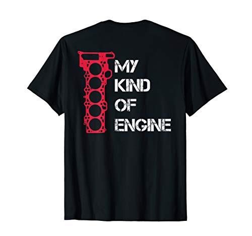 My Kind Of Engine 5 Zylinder Fünf Motor Auto Tuning T-Shirt