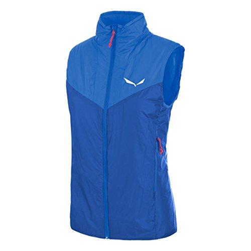 Salewa Ortles 2 PRL W VST - Gilet de Fitness pour Femme, Couleur Bleu, Taille 42/36