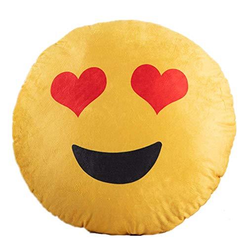Kissen Emoji Druck Umarmung Kissen Plüsch Spiel Kissen Kinder Spielzeug Kissen 40 * 40cm/ aufwändig
