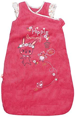 Petit Béguin - Baby Mädchen Winter Schlafsack mitwachsend wattiert Bunny Gr. 68-86 cm (6/18M)