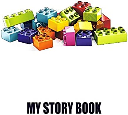 My Story Book. Blank Drawing Space Lined Notebook Journal Diary.