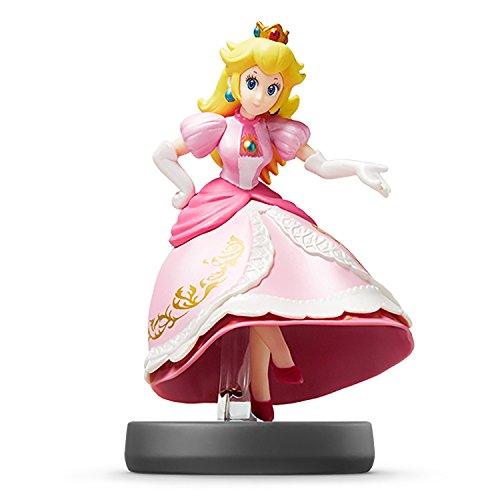 Nintendo Peach Amiibo - Japan Import - Super Smash Bros Series - Switch