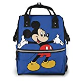 Suguroo Mick-ey Mommy Bag Durable Diaper Travel Bag Mom and Dad Multifunction Backpack