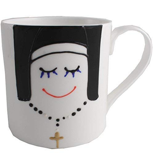 Dreamair Nonne English Mug en Porcelaine Anglaise
