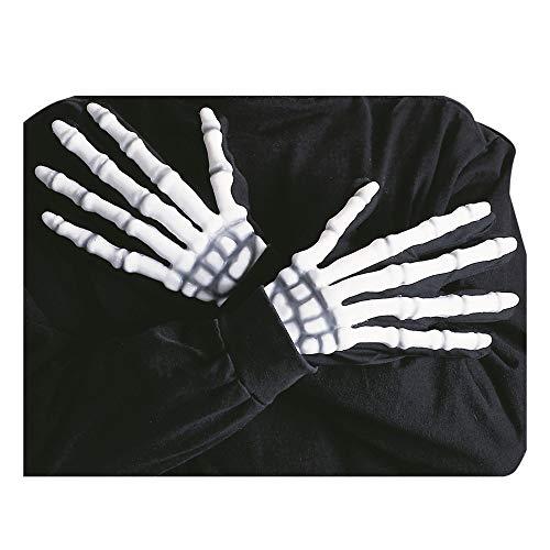 Desconocido Guantes Esqueleto 3D Fosforescente adultos - One Size