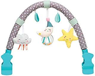Taf Toys Mini Moon Arch | Ideal for Infants and Toddlers, Fits Stroller and Pram, Activity Arch with Fascinating Toys, Sti...