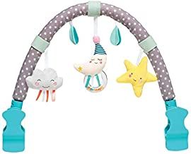 Taf Toys Mini Moon Arch | Ideal for Infants & Toddlers, Fits Stroller & Pram, Activity Arch with Fascinating Toys, Stimulates Baby's Senses and Motor Skills Development, for Easier Outdoors
