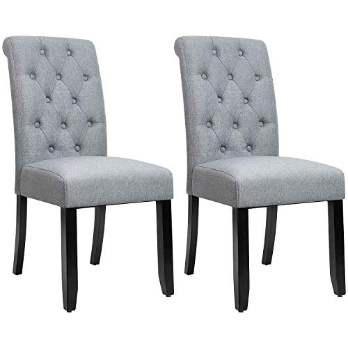 Top gray dining chairs nailhead for 2020