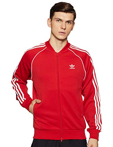 adidas Sst Tt - Chándal para hombre, Hombre, DH5824, Colred, X-Large
