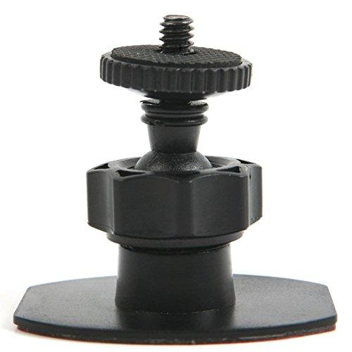 Adanse Auto-Windschutzscheiben-Saugnapf-Halterung für Mobius Action Cam Autoschlüssel-Kamera, Schwarz