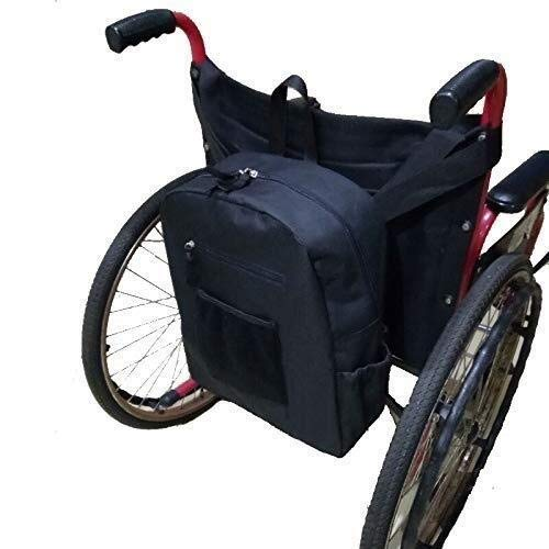 Durable Oxford Cloth Wheelchair Bags for The Back; Wheelchair Backpack for The Elderly; People with Disabilities, for Most Wheelchair Transport