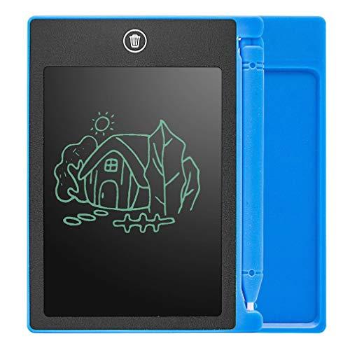 CandyTT LCD da 4,4 Pollici Tavoletta da Scrittura Tavoletta da Scrittura per Bambini Blocco da Disegno Pittura Grafica da Regalo Regalo creatività per Bambini Immaginazione (Blu)