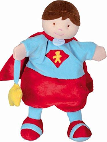 Marionnette super héros - rouge - Doudou et compagnie