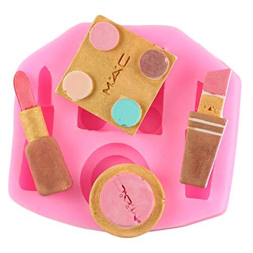 JJCDKL Make-up Werkzeuge Pinsel Silikon Formen Herz Lippenstift Parfüm Schokolade Fondant...