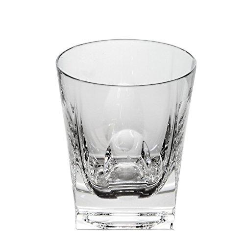 Cristal de Sèvres Fox Trot Set di Bicchieri Whisky, Vetro, 10x 10x 10cm, 2Pezzi