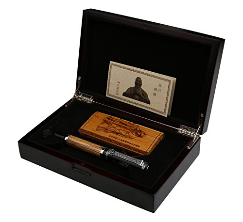 Duke 551 Confucius Penna stilografica di lusso, con pennino in iridio, codice 4282