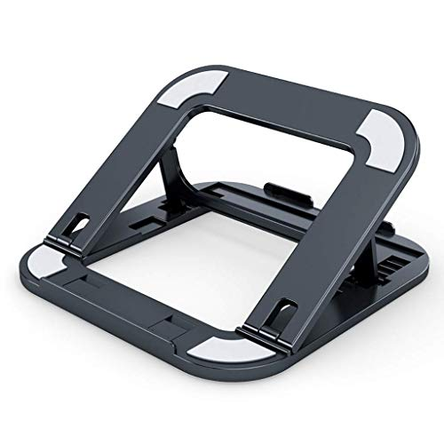 AWCPP Laptop Stand, Notebook Computer Stand, Radiator, Lifting and Folding Portable Increased Shelf Support, Desktop Office Base, Folding Laptop Stand,a