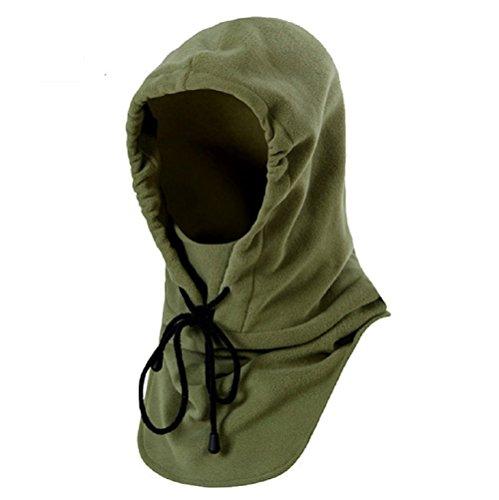 VOFO Tactical Heavyweight Balaclava Outdoor Sports Mask (Green)