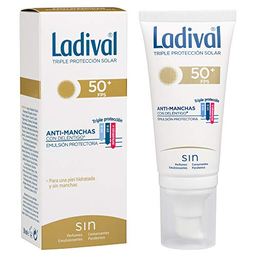 Ladival Protector Solar Facial Anti Manchas - FPS 50+, 50 ml