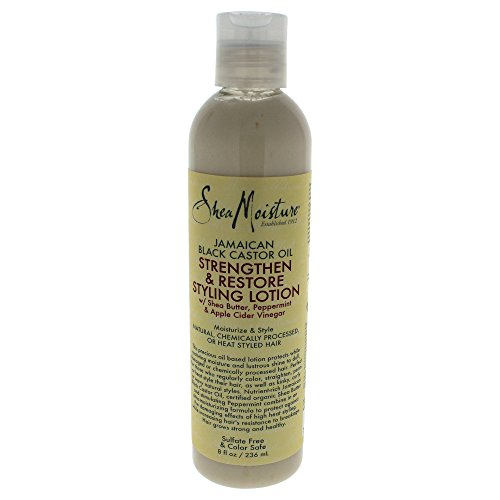 Shea Moisture Jamaican Black Castor Oil Strengthen Grow and Restore Styling Lotion 236 ml