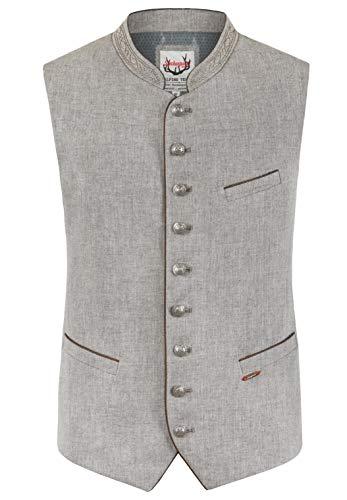 Stockerpoint Herren Ravon Business-Anzug Weste, grau-grün, 56