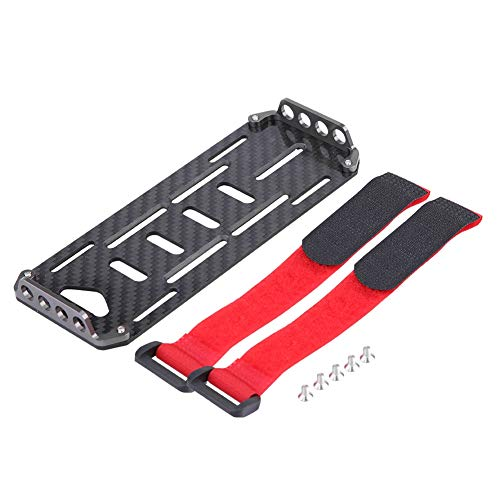 Best Prices! Battery Mounting Plate for Traxxas Hsp Redcat Rc-4wd Axial scx1 1:10 Crawler RC Car