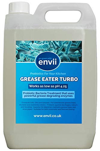 Envii Grease Eater Turbo – Enzyme Grease Trap Cleaner - 5L